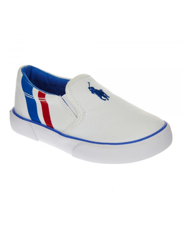 ΛΕΥΚΟ SNEAKERS SLIP ON